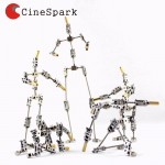 Free shipping CINESPARK 27cm 1:8 proportional professional MAN armature NOT-READY-MADE DIY studio armature puppet for Stop Motion Animation Character