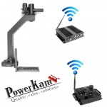 PowerKam motorized and wireless pan tilt head for 8 kg for film making for 1000 meter distance