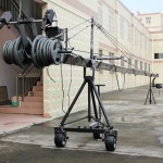 PowerKam JC-1200B 12 m/39 ft camera jib crane with 3-axis dutch head