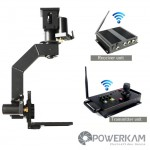 PowerKam PT-1S&EZ2020WS (C mounting) 2.4G wireless pan tilt head with remote controller