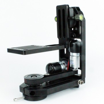 PT-0 motorized pan tilt head with DC motors without controller for BMCC,DSLR,GH4,BMD